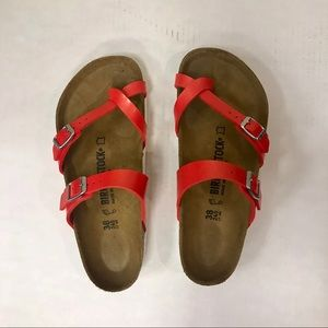 Birkenstock Mayari Sandal in Red